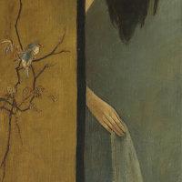 """Folding Screen"" - Oil on canvas, 130 x 60cm"