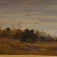 24. 'Palude Di Tombolo Pisa' 16x58 cm