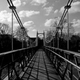 Along Teddington Footbridge