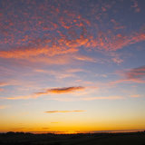 Cornwall Pink Sunset