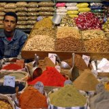 Market Vendor of Nuts and Spices