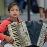 Young Street Busker