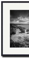 Black Frame for 30x 40cm  (Time Portal)