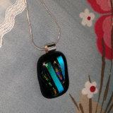 Dichroic Glass Pendant; Rousseau