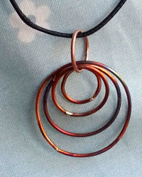 Copper ringlets
