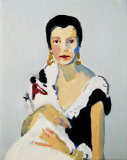 'Peggy Guggenheim with her dog'  2015