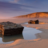 Sunset Dunraven bay