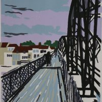 Barnes Bridge Pink