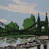 Hammersmith Bridge Japanese Paper