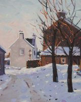 fowlis wester in winter