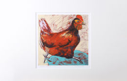 'The Masked Invader' Mounted Print