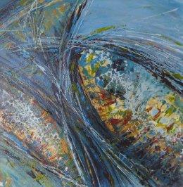 Abstract fish detail