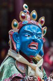 Hemis Festival Masked Figure 1