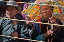 Hemis Festival Spectators