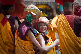 Hemis Festival Excitement