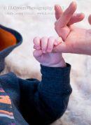 Holding Mummys Hand