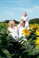 Sunflower Family location shoot