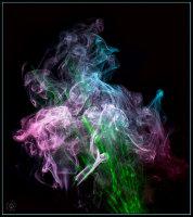 Lady of the smoke !