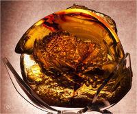 'Carved amber...'