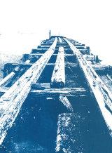 Timber jetty