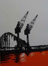 Silo and Cranes