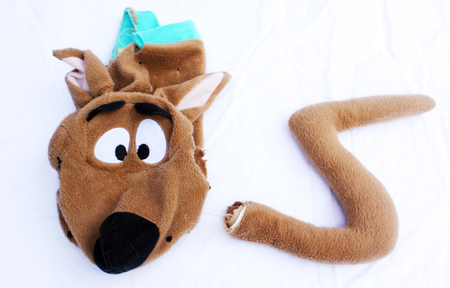 HERE LIES THE REMAINS OF SCOOBY DOO