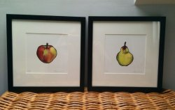 1 Apple and 1 Pear