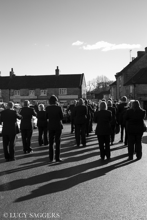 Remembrance Day, Helmsley, 2013