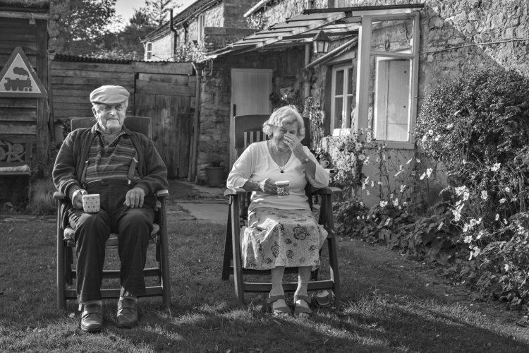 Herbert and Betty Fox, Ampleforth, October 2015