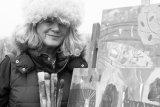 Lesley Seeger IV B&W- December 2014