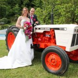 A country wedding!