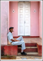 Cuban doorway