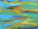 Agua Sinuosa, acrylic on panel