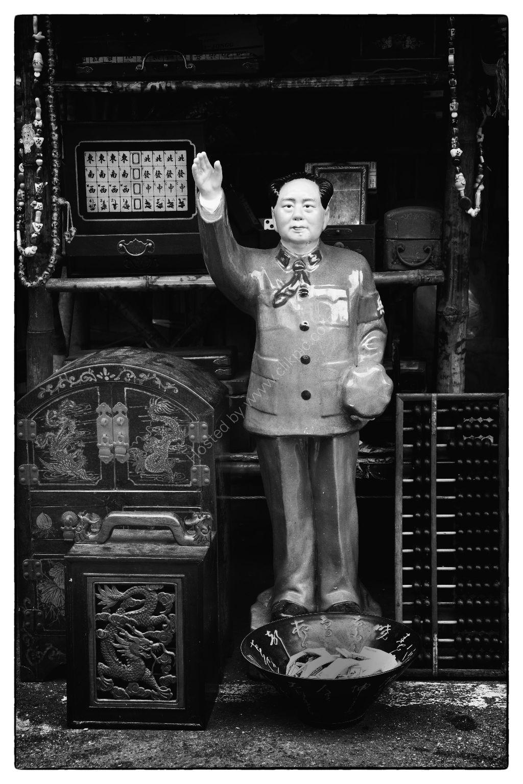 Souvenir Shop in Hong Kong's fmaous Antique Ally