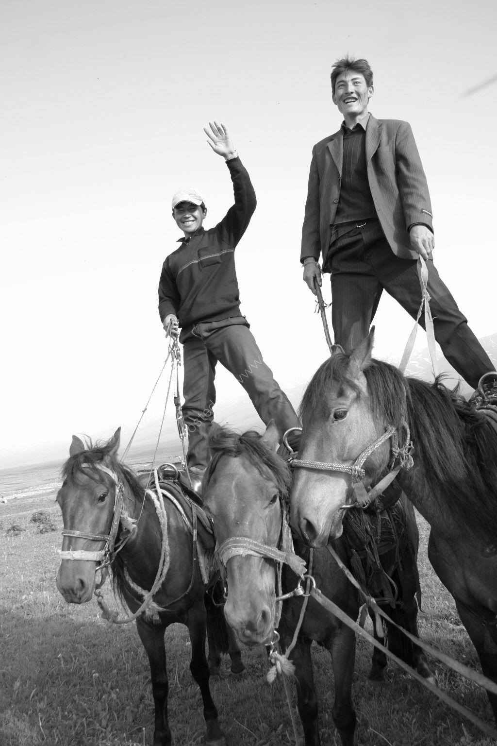 Northern China horsemen