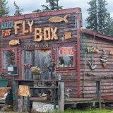 Typical cute little fishing shop  near Nilinchick.