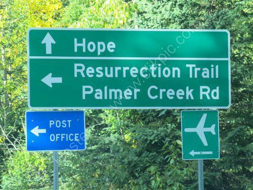Signpost nesr hope.