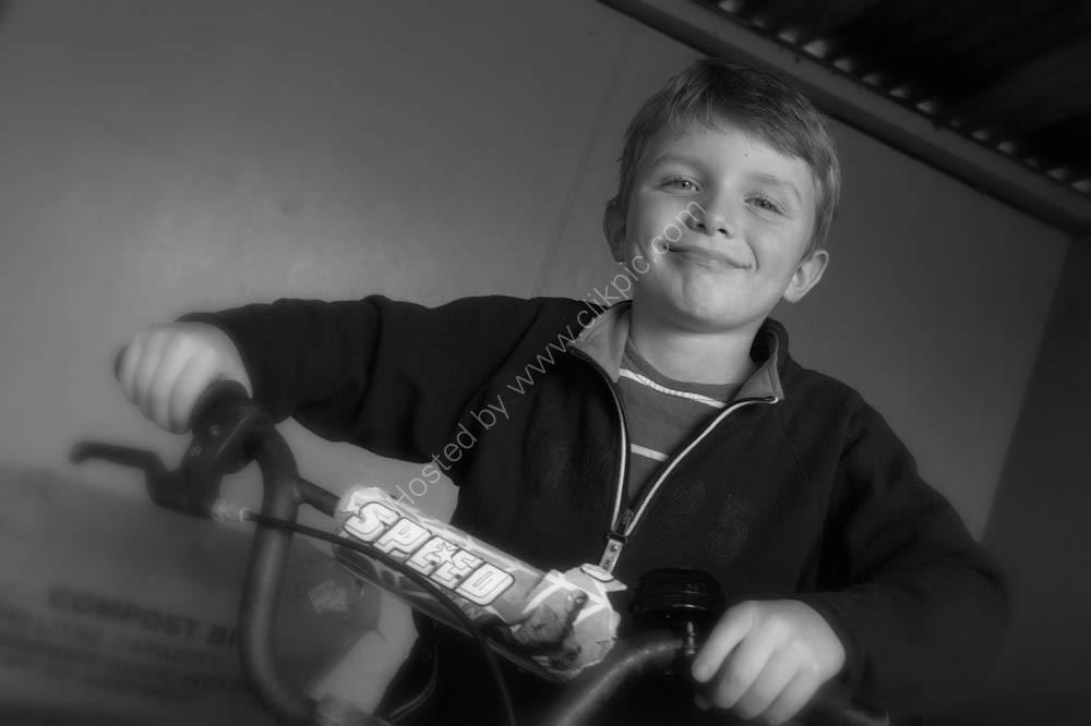 Boy and his Bike