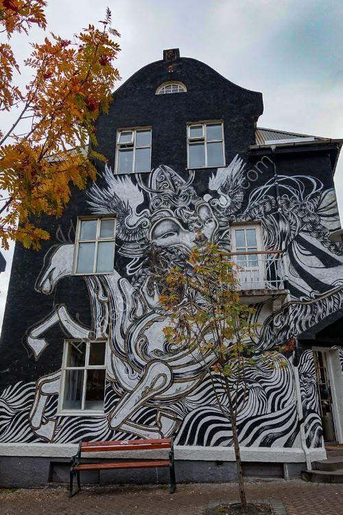 Street Art - Reykjavik, Iceland