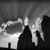 Fairy Chimney Silhouette Goreme