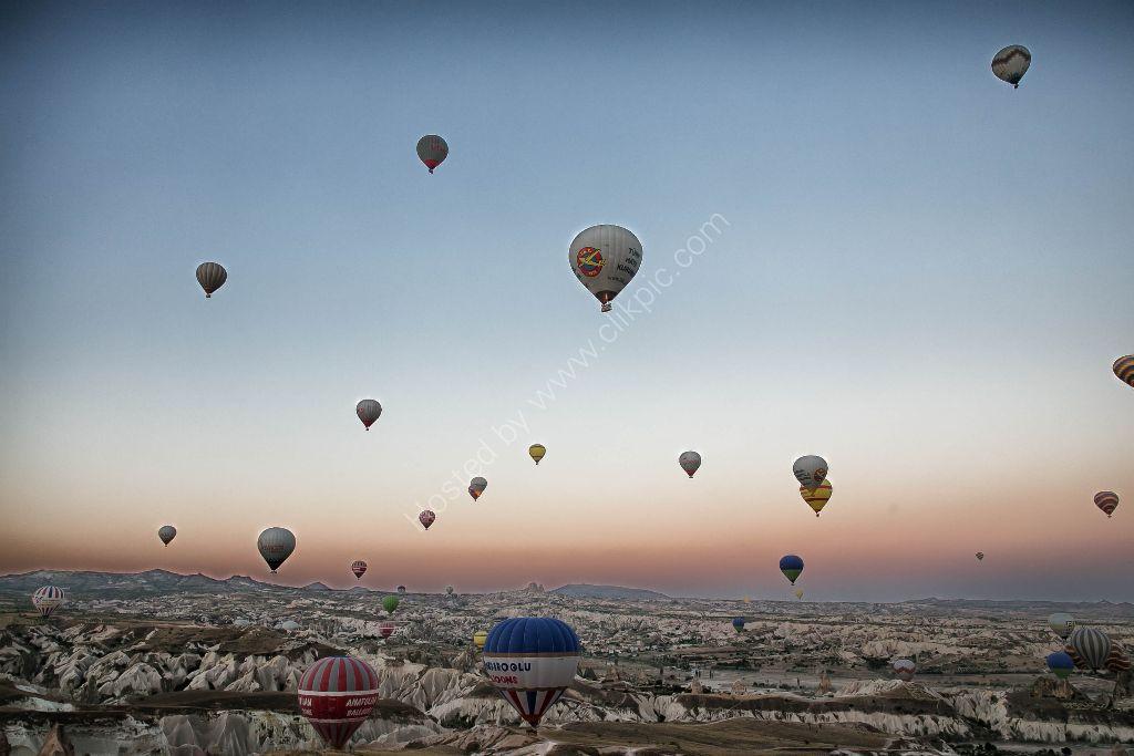 Cappadoccia Hot air ballooning