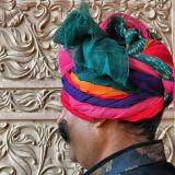 Unusual turban in Bikaneer.