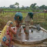 Pumping water - rural Rajasthan,  India