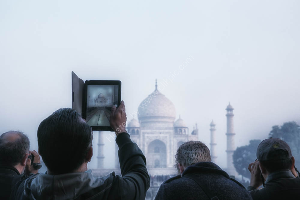 ipads at The Taj Mahal