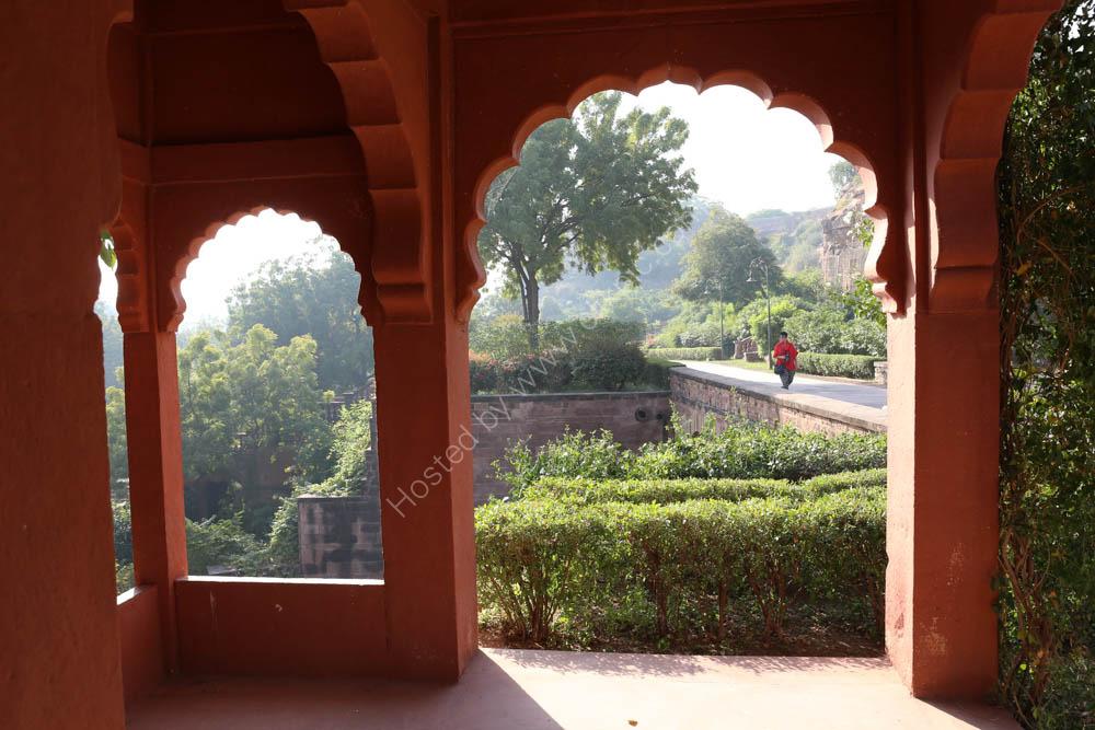 The Bal Samand Hotel Garden - Jodphur