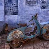 Old bike in Jodphur