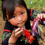 Hmong Tribe Child -Sapa