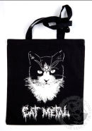 Cat Metal Tote Bag