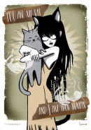*NEW* You Are My Cat digital print