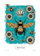 Queen Bee A4 digital print